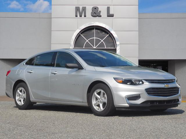 Pre Owned 2017 Chevrolet Malibu Ls 1ls Fwd Ls 4dr Sedan