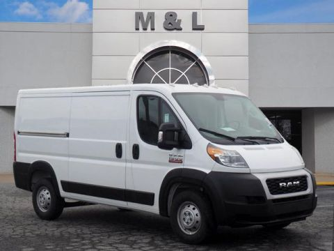 New 2019 RAM ProMaster Low Roof 136 WB